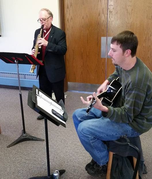 Pastor Barnes & Nick Fleming