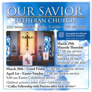 Holy Week & Easter Services flier (2)