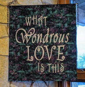 Wondrous Love banner